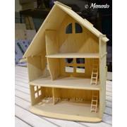 Кукольный домик из фанеры (разборной) фото