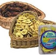 Банановые чипсы, Банан сушеный, Фрукты сушеные фото