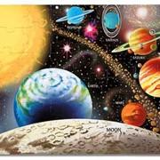 Напольный пазл: Солнечная система - 48 эл. Бренд: MELISSA & DOUG (США) Коллекция: Wooden and cardboard pazzles (Пазлы (дерево, картон, напольные)) фото