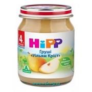 Пюре Hipp 125г Груша Вильям Крист, с 4мес фото