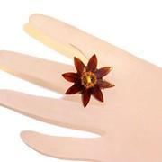 Кольцо из янтаря 50007-aw фото