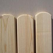 Штакетник деревянный неокрашенный фото