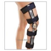 Ортопедический фиксатор ортез на колено с ограничителями сгибание / разгибание 6320 Genucare ROM фото