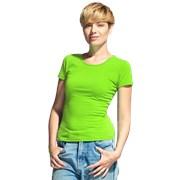 Женская футболка-стрейч StanSlimWomen 37W Ярко-зелёный S/44 фото