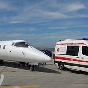 Авиатранспортировка пациентов с использованием службы скорой помощи фото
