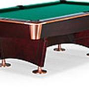 Бильярдный стол для пула Reno 8ф (махагон) фото