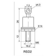 Силовые низкочастотные диоды - Диод Д122-32-3 фото