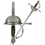 Шпага испанская, Газолета, XIV в., серебро фото