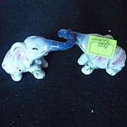 Сувенир слоны держатся хоботами 3716 3716А 13х6см фото
