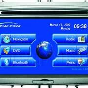 Штатная GPS автомагнитола Professional GPS Entertaiment Plant для Ford Focus фото