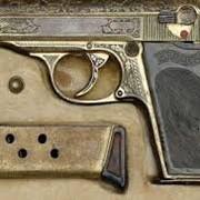 Позолота,серебрение и гравировка на оружии. фото