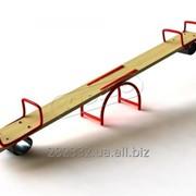 Качеля-балансир Старт с металлическим каркасом GBA001 фото