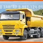Самосвал Камаз 6520-26020-73 - 16 м3 с двигателем Самосвал Камаз фото