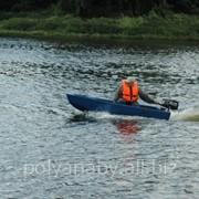 Лодка моторно-гребная фото