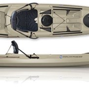 Wilderness Systems Tarpon-140 - Sit-On-Top каяк с рулевым управлением для рыбалки, прибрежного туризма и прогулок фото