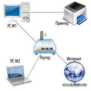 Настройка и подключение компьютерной фото
