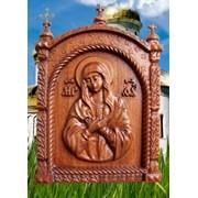 Иконы деревянные в ассортименте фото