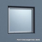 Рентгенозащитное окно ОРС-1-356 (356х356х10мм, Pb=2,5мм) фото