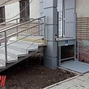 Вертикальная подъемная платформа для инвалидов в Перми фото