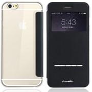 "Чехол-книжка кожаный i-Smile iAcura для iPhone 6 4.7"" Black (IPH1024-BK) фото"