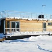 Строительство понтонов, дебаркадеров, houseboat фото