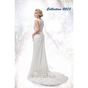 Платье свадебное коллекции 2015 г., модель 23 фото