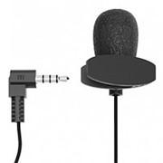 Микрофон Ritmix RCM-102 на клипсе, 4 pin , чёрный фото