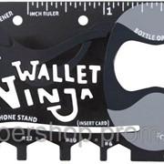 Мульти-кредитка Ninja Wallet 18 в 1 185-18410356 фото