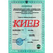 Строительная лицензия на общестроительные работы Киев фото