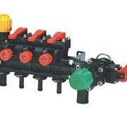 Блок управления на 3 секции с компенсационными калибровочными клапанами фото