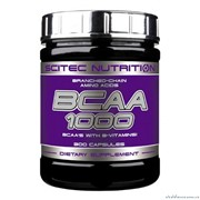Аминокислоты Scitec Nutrition BCAA 1000 300 капсул фото