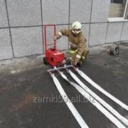 Испытание пожарного рукава фото