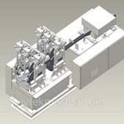 Машина для вытягивания и прессования рулончиков марли ВПР-М фото