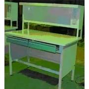Стол металлический лабораторный физический фото