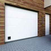Автоматические гаражные ворота Дорхан фото