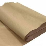 Упаковочная бумага крафт фото