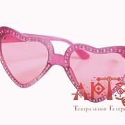 Розовое сердце фото