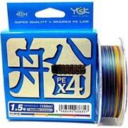 Шнур плетеный YGK Veragass PE X4 0,165мм 200м фото