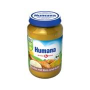 Пюре Humana 190г Тыква с рисом и цыпленком (с 6мес) фото