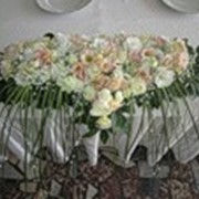 Свадебные букеты для невесты и дружки, свадебное украшение зала, браслеты для невесты, украшение для свадебной прически. фото