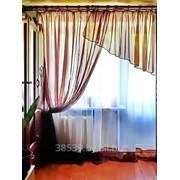 Вуалевый комплект штор Карина фото