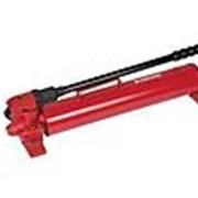 Насос ручной гидравлический для работы оборудования с пружинным или гравита фото