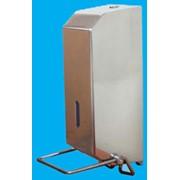 Локтевой дозатор для жидкого мыла и дезинфицирующего средства фото