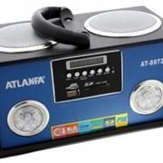 Портативная колонка ATLANFA AT-8972 USB, CardReader, Радио фото