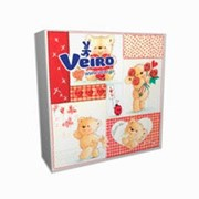 Veiro 3-слойные 20 листов с рисунком 33х33 (в ассортименте) Веиро фото
