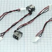 Разъем для ноутбука HY-LG006 LG-R400 LG E23 E200 E300 с кабелем фото