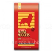 Корм для взрослых собак с ягнёнком Nutra Nuggets Lamb&Rice 1 кг фото