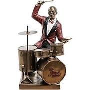 Скульптура Барабанщик/Музыканты 18х27х18см. арт.WS-873 Veronese фото