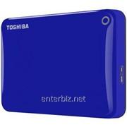 "Накопитель внешний HDD 2.5"" USB 1.0TB Toshiba Canvio Connect II Blue (HDTC810EL3AA) фото"