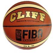 Мяч баскетбольный Клифф PVC GL-6 фото